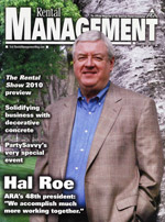 Rental Management Magazine cover page