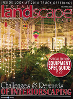 Total lanscape care Magazine cover image